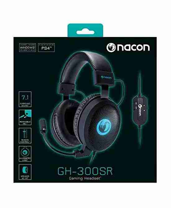 Nacon GH300SR 7.1 Surround Headset for PS4